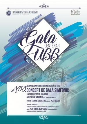 Gala si concert special care marcheaza 100 de ani de invatamant romanesc la UBB