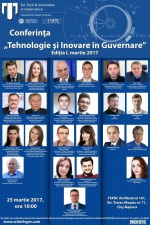 """FSPAC organizeaza conferinta """"Tehnologie si Inovare in Guvernare"""""""