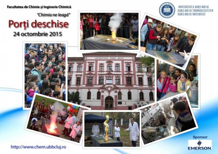 Facultatea de Chimie si Inginerie Chimica isi deschide portile pentru vizitatori