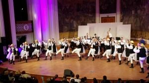 Ansamblul Folcloric Studentesc Mugurelul pornit intr-un turneu in Olanda