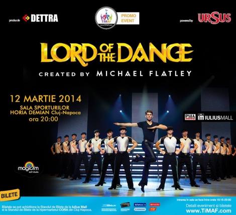 [Update] Castiga o invitatie dubla la Lord of Dance @ 12 martie Cluj