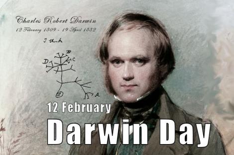 Darwin Day sarbatorita in toata lumea in 12 februarie!