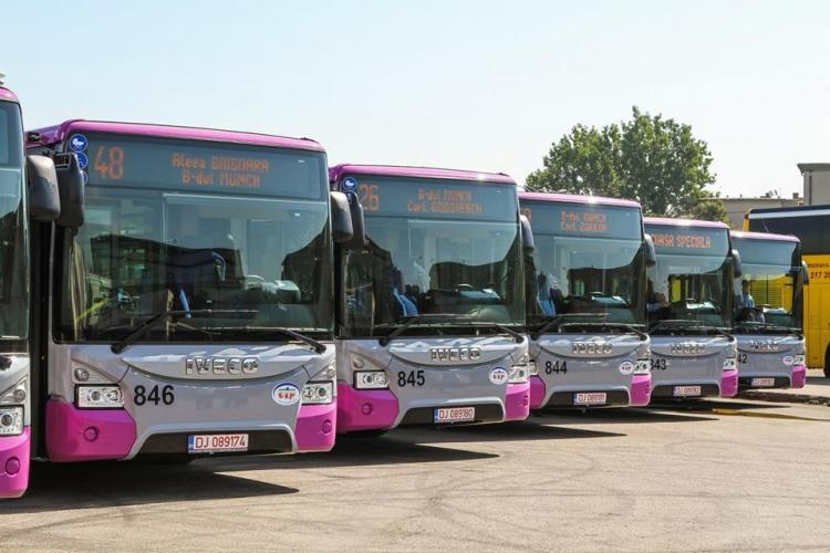 Program special pentru mijloacele de transport in comun in acest weekend