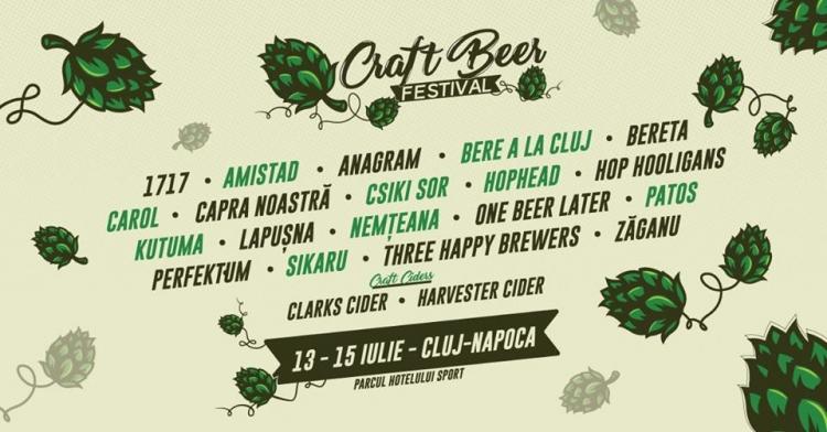 Iubitorii de bere sunt invitati la Craft Beer Festival in acest weekend