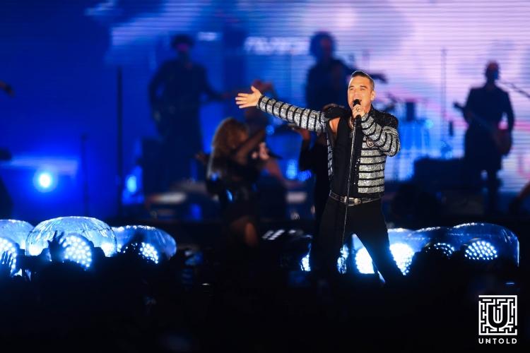 Robbie Williams le-a oferit fanilor un show live incredibil in cea de-a patra zi de UNTOLD!