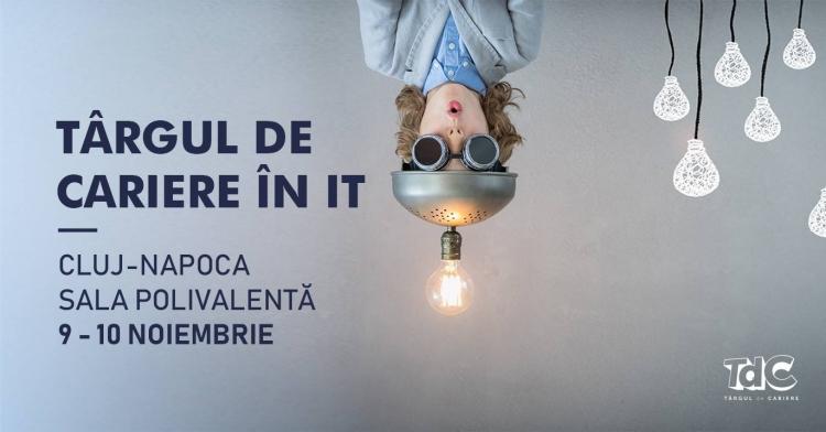 Targul de Cariere IT revine la Cluj cu o editie cu totul speciala