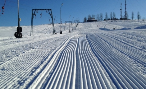 Partia de schi Feleacu s-a deschis cu noi atractii: un snowpark si o partie de tubing