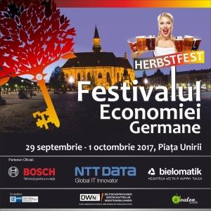 Festivalului de Toamna al Economiei Germane se opreste si la Cluj