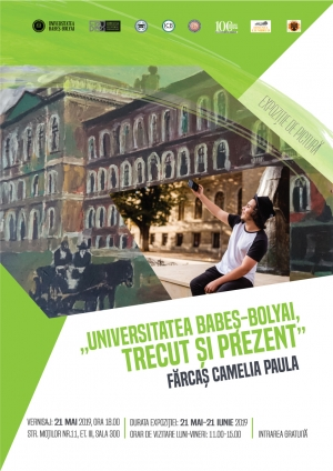 "UBB organizeaza vernisajul expozitiei de pictura ""Universitatea Babes-Bolyai, trecut si prezent""."