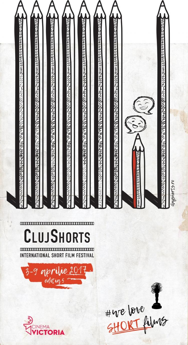 Programul ClujShorts 2017 @ 3 - 9 aprilie Cinema Victoria