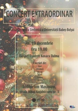 Concert Extraordinar de Sarbatori sustinut de Orchestra Simfonica a Universitatii Babes-Bolyai