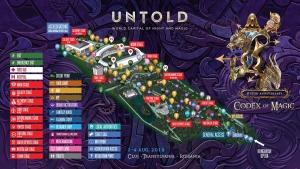 UNTOLD 2019 va avea cea mai impresionanta productie de festival din Europa