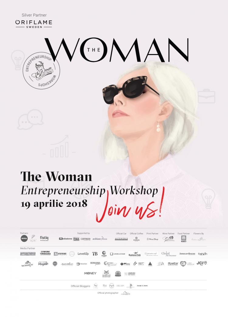 Workshop marca The Woman: Despre provocarile dezvoltarii unui business de succes