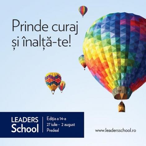 LEADERS School isi propune sa creeze oameni de succes si anul acesta
