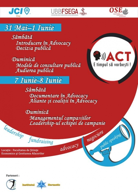 Active Citizenship Training (ACT) powered by OSE & JCI