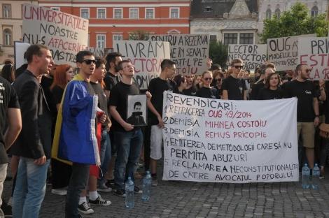 Studentii vor o reactie din partea Avocatului Poporului