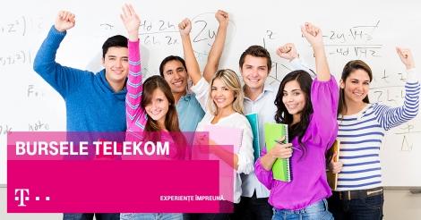 Telekom da startul competitie pentru burse de 900 lei/luna