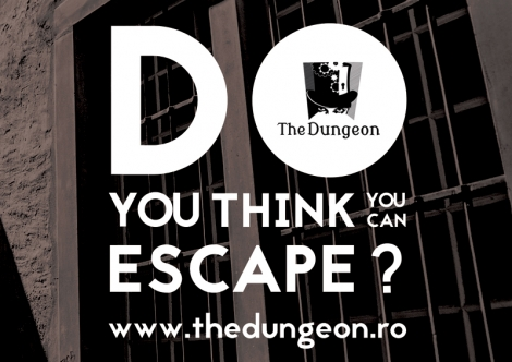 Castiga o invitatie de 4 persoane la The Dungeon
