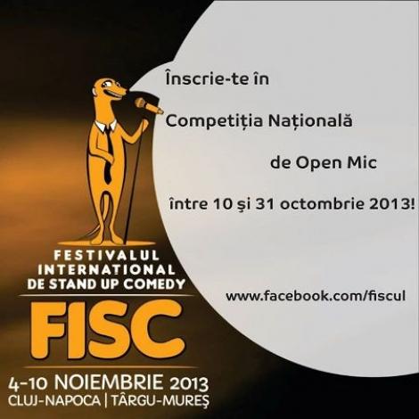S-a dat startul Competitiei Nationale de Open Mic din cadrul FISC