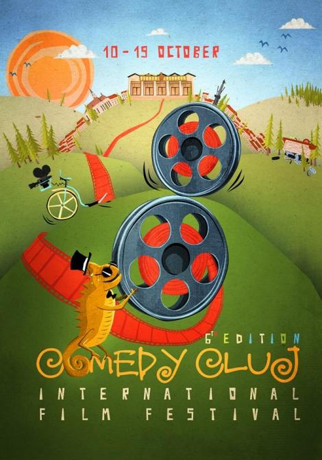 Comedy Cluj se pregateste pentru cea de-a VI-a editie @ 10 - 19 octombrie