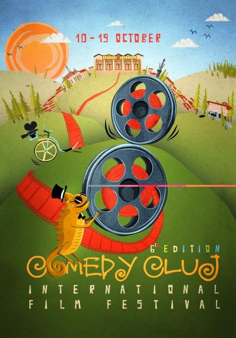 """""""Noul val"""" de actrite jurizeaza Competitia de Scurtmetraje Comedy Cluj 2014"""