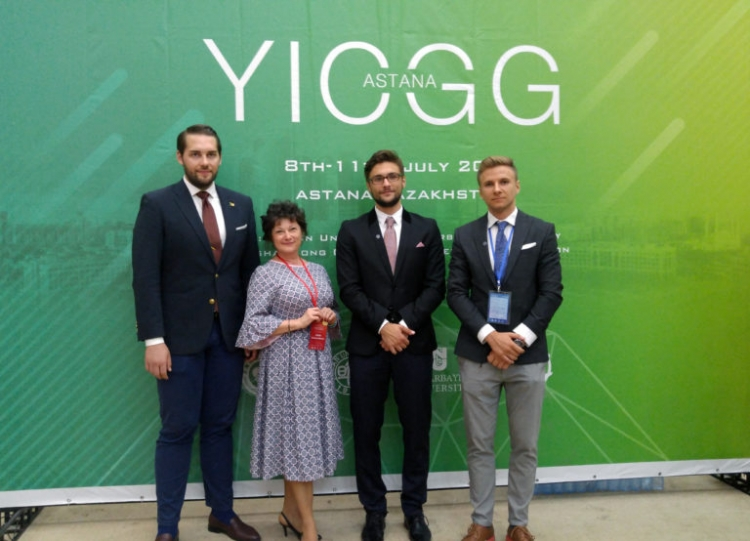 "Studenti UBB premiati la ""Youth Innovation Competition on Global Governance"""