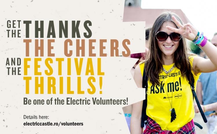 Electric Castle 2016 este in cautare de voluntari
