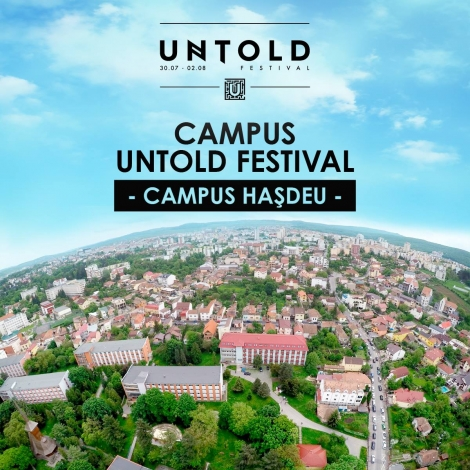 Campusul UNTOLD pune la bataie primele 1.000 locuri de cazare pentru festivalieri