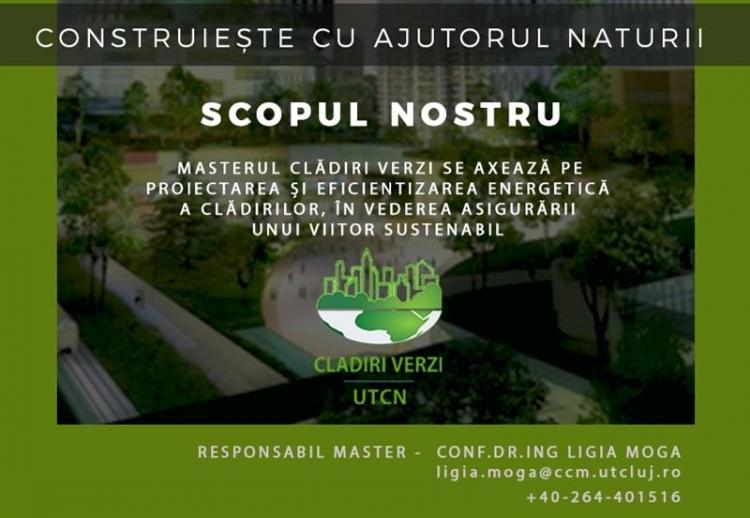 Un nou master de viitor la UT Cluj: Masterul Cladiri Verzi