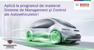 Un nou program de masterat diponibil la UTCN in colaborare cu Bosch