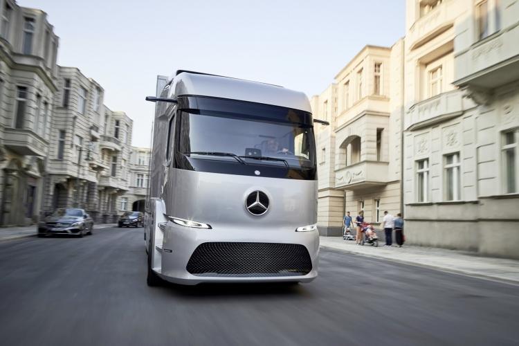 Dupa autobuzele electrice, la Cluj va veni primul camion complet electric