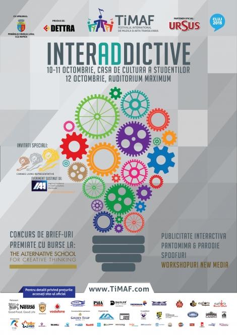 TiMAF si Cannes Lions Romania anunta cea de a 2-a editie a festivalului de publicitate InterADdictive