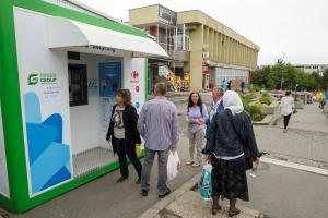 Aparate noi de colectare a deseurilor reciclabile amplasate in Cluj-Napoca