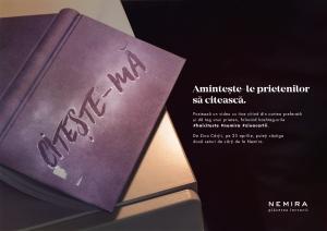 Editura Nemira te invita la citit printr-o campanie inedita