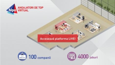 4000 de joburi disponibile la editia virtuala a Targului de cariera Angajatori de TOP