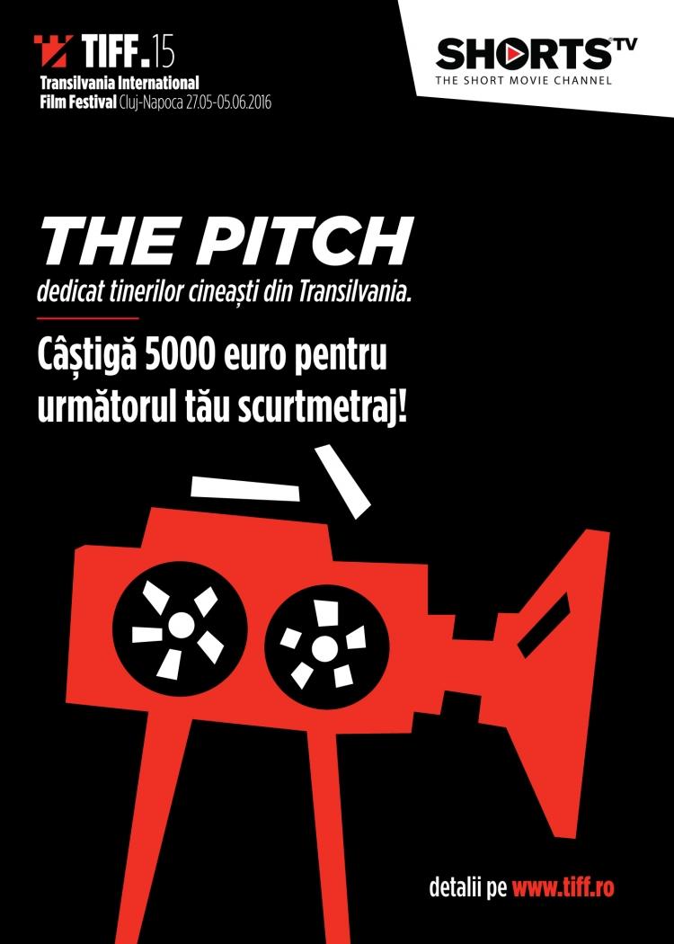 Concursul The Pitch ajunge în Transilvania, la TIFF. Premiul: 5.000 de euro pentru un scurtmetraj