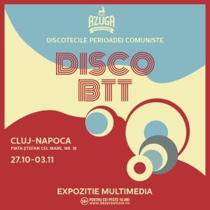Expozitia multimedia DISCO BTT se deschide la Cluj-Napoca