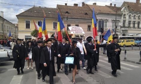 Ceremonie de absolvire cu fast la UTCN Cluj