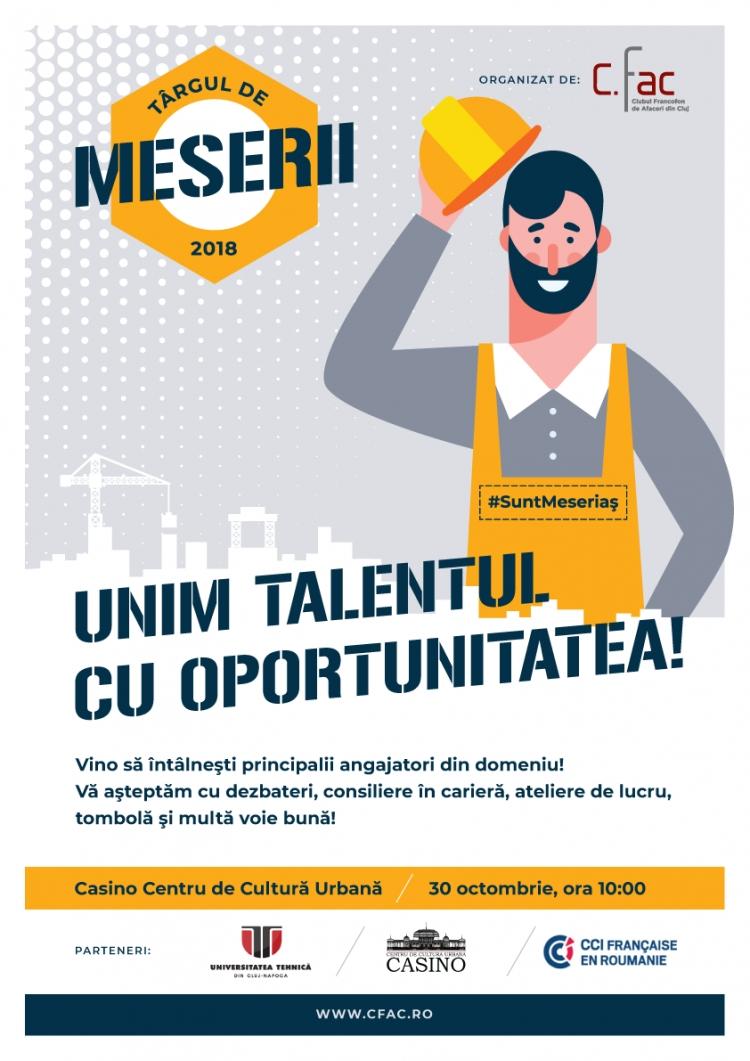 Targ de meserii la Cluj, in plina criza pe piata fortei de munca