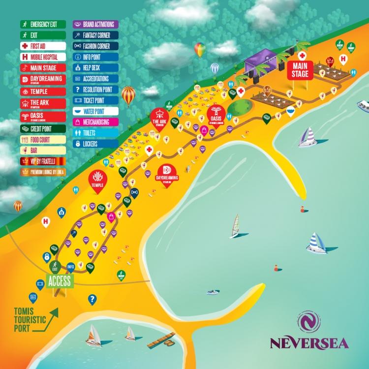Accesul in festival, transportul in comun si restrictii de circulatie pentru festivalul NEVERSEA