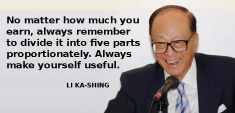 Li Ka-Shing ne invata cum sa ne cumparam casa si masina in doar 5 ani