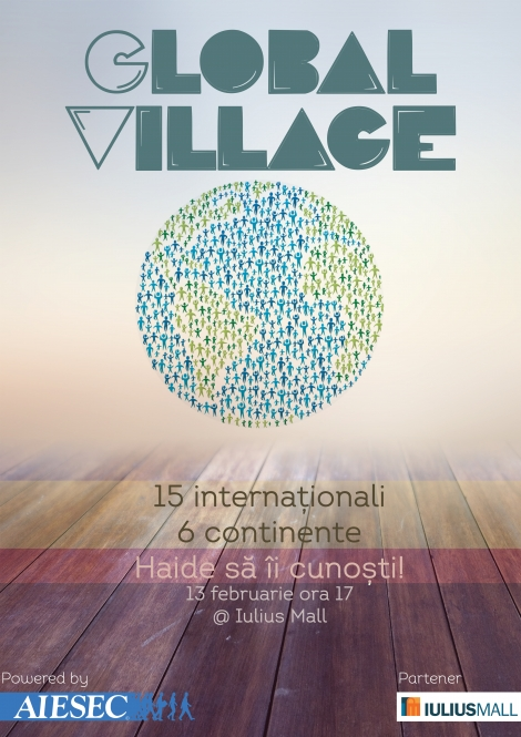 Global Village: 15 internationali, 6 continente
