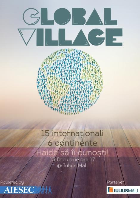 Global Village: 15 internationali, 6 continente