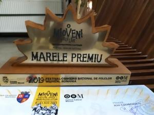 Ansamblul Folcloric Studențesc Mugurelul a castigat Festivalului Concurs Mioveni 2019