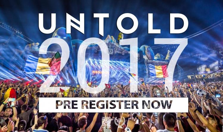 Povestea UNTOLD continua: au inceput preinregistrarile pentru editia 2017