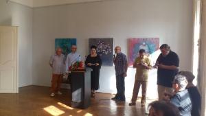 Doctorandul Alexandru Nicoara isi va prezenta lucrarile intr-un vernisaj de expozitie contemporana