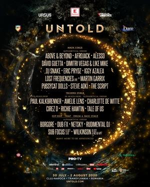 Premiera in Romania la UNTOLD! Vezi primii artisti anuntati!