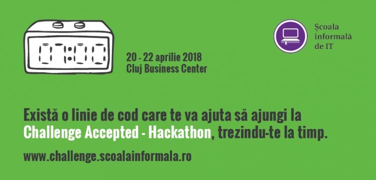 """Interviu cu Răzvan Voica, CEO Școala Informală de IT, organizator Challenge Accepted - Hackathon: """"O linie de cod poate face lumea un loc mai bun. Challenge Accepted înseamnă înseamnă lectia lui aici si acum"""""""