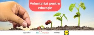 Angajatii pot face acum voluntariat in scoli prin programul lansat de Fundatia Noi Orizonturi in Romania