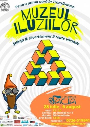 10 zile pline de magie - Muzeul Iluziilor pentru prima data la Cluj